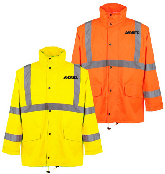 GSS - CLASS 3 RAIN JACKET WITH 2 PATCH POCKETS - 6001/6002