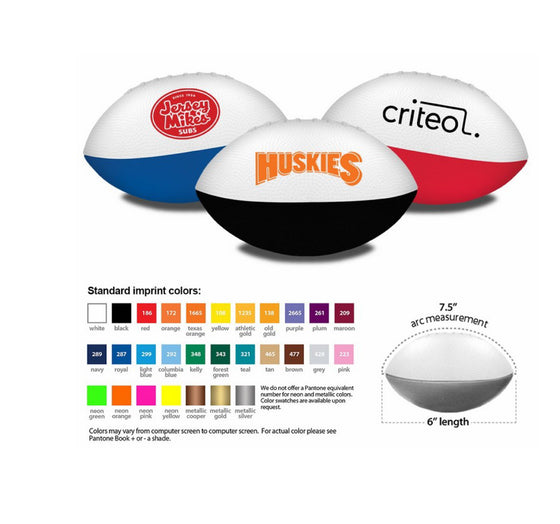 Dillas Foam Football 7.5""