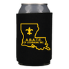 Abate Black Can Koozie