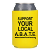 Abate Yellow Can Koozie