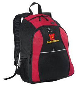 Port Authority® Contrast Honeycomb Backpack - BG1020