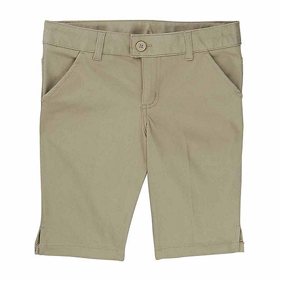 SPE - Girls Khaki French Toast Short Bermuda Short - SH9061