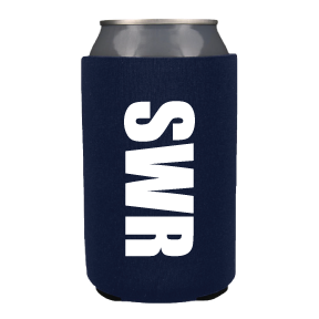 Collapsable Neoprene Can Holder - Navy (5)