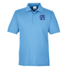 SPE - Monogrammed Sport Light Blue Polo 2019 - TT51 Team 365