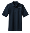 Port Authority® Heavyweight Cotton Pique Polo with Pocket - K420P