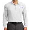 Port Authority® Long Sleeve Silk Touch™ Polo with Pocket - K500LSP