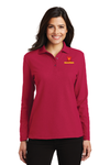 Port Authority® Ladies Silk Touch™ Long Sleeve Polo - L500LS
