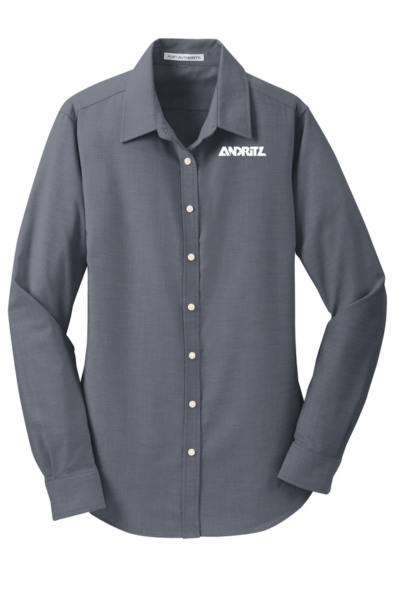 Port Authority® Ladies SuperPro™ Oxford Shirt - L658