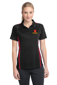 Sport-Tek® Ladies PosiCharge® Micro-Mesh Colorblock Polo - LST685
