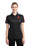 Sport-Tek® Ladies PosiCharge® Active Textured Colorblock Polo - LST695