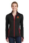 Sport-Tek® Ladies Sport-Wick® Stretch Contrast Full-Zip Jacket - LST853