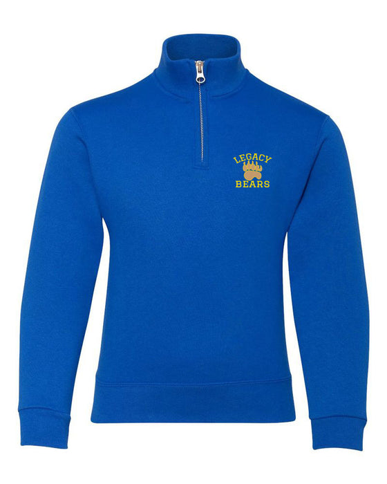 Legacy 1/4 ZIP Fleece Cadet Collar Sweatshirt - 2019