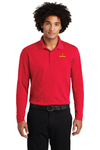 Sport-Tek ® PosiCharge ® RacerMesh ® Long Sleeve Polo - ST640LS