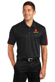 Sport-Tek® PosiCharge® Active Textured Colorblock Polo - ST695