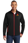 Sport-Tek® Sport-Wick® Stretch Contrast Full-Zip Jacket - ST853