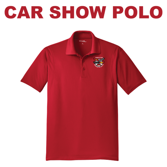 RCCC Men's TALL Car Show Polo - Sport-Tek -  TST650