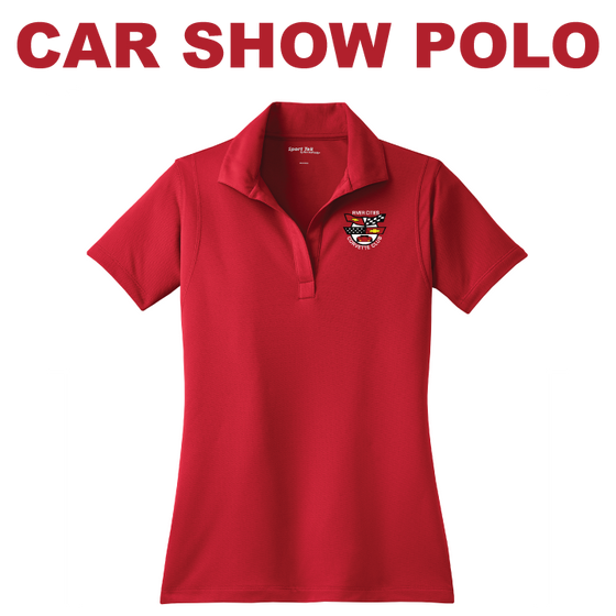 RCCC Women's Car Show Polo - Sport-Tek - LST650