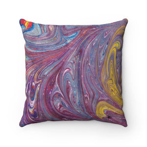 Purple Swirl Pillow