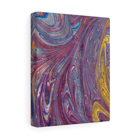 Purple Swirl Canvas Gallery Wrap
