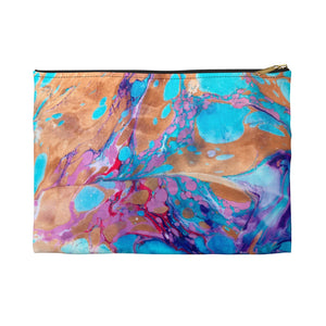 Golden Bliss Accessory Pouch
