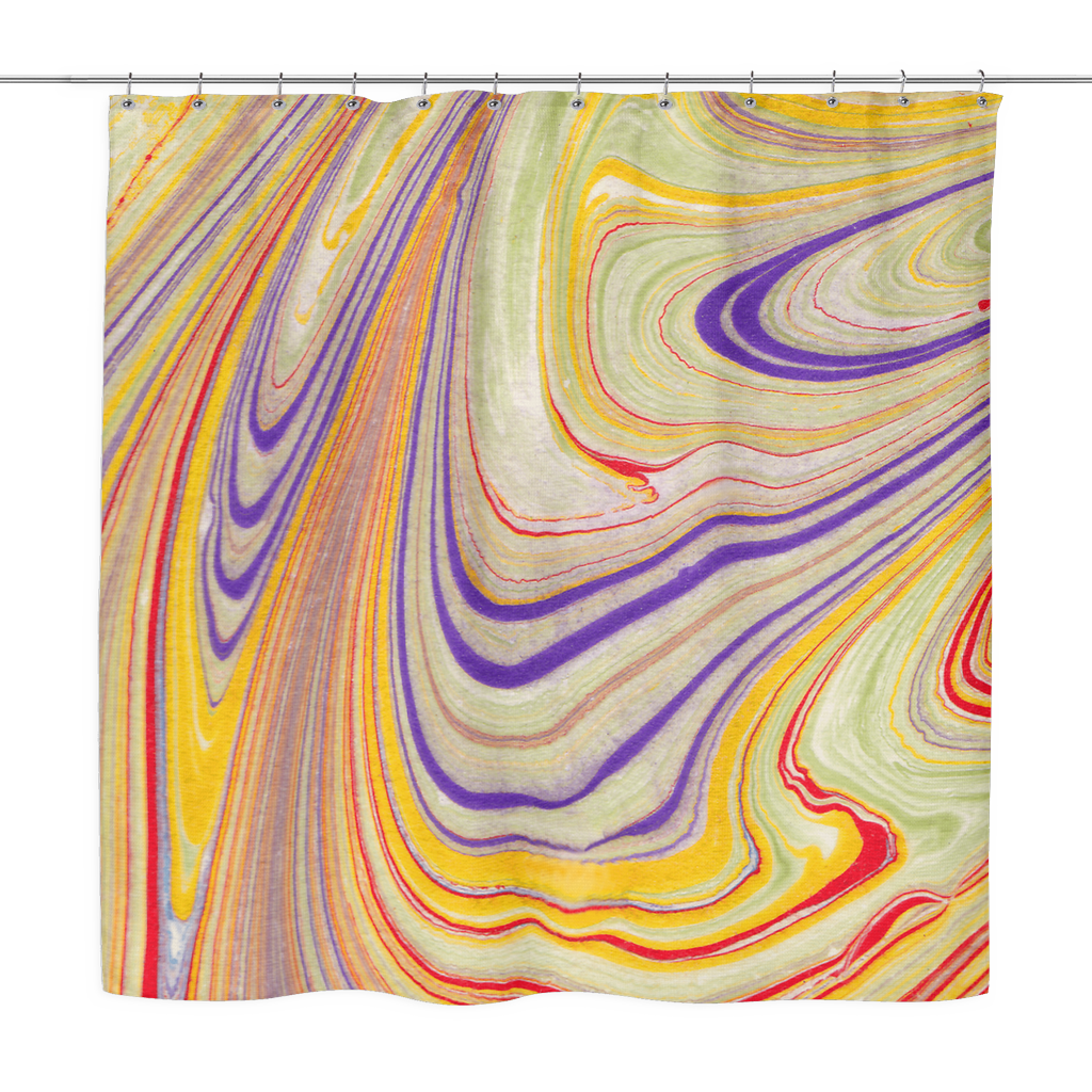 Sun-Shiny Day Shower Curtain