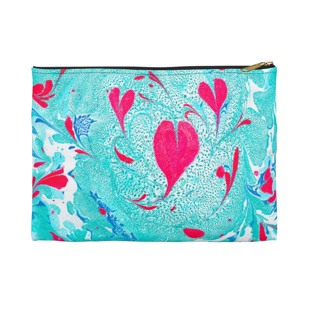 Love In Spring Accessory Pouch