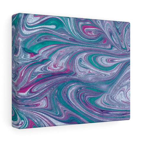 Turquoise Wave Canvas Gallery Wraps
