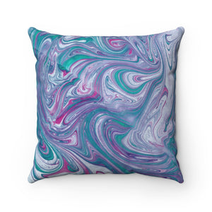 Turquoise Wave Pillow