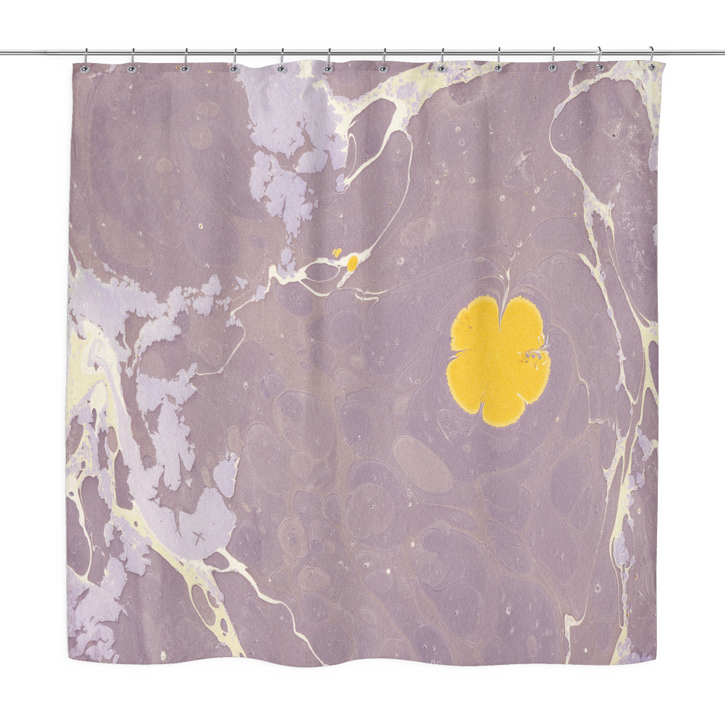 Lilac Lake Shower Curtain