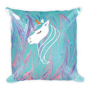 Unicorn Dream Pillow - Satin Finish