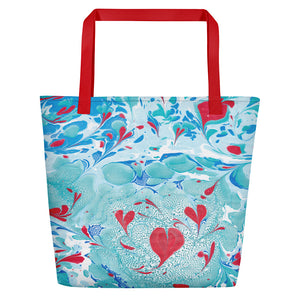 Love In Spring Shopper Bag