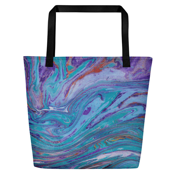 A day at the Ocean Shopper Tote