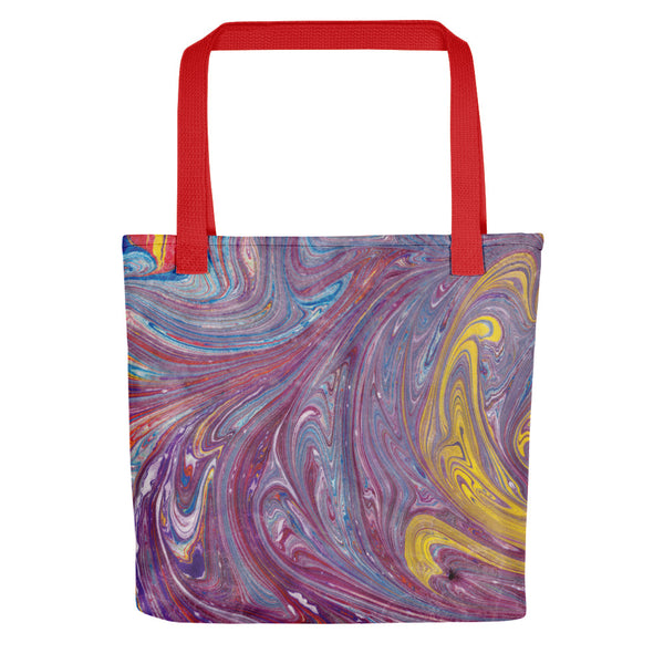 Purple Swirl Tote bag
