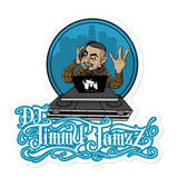 DJ Jimmy Jamzz Bubble-free stickers by Castro
