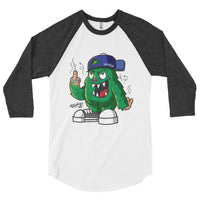 Nuggzy 3/4 sleeve raglan shirt