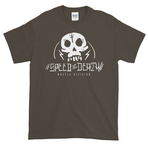 """Speed or Death"" Short sleeve t-shirt"