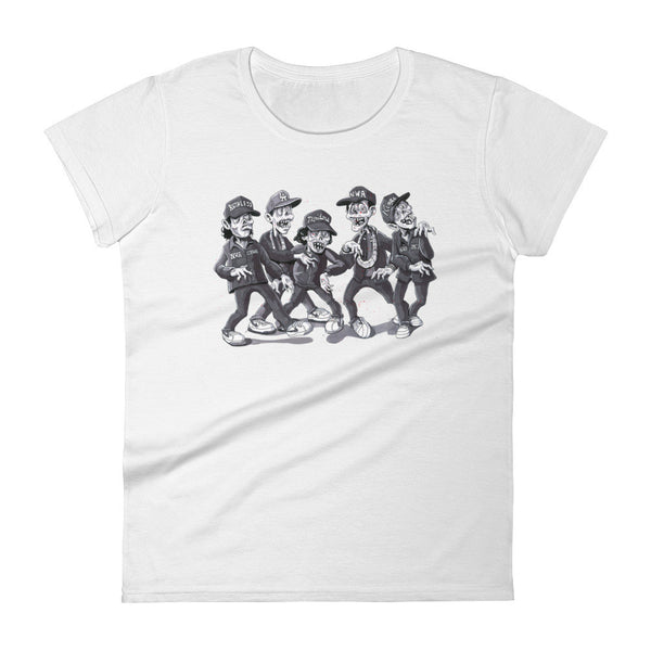 Zombies for Life! Women's short sleeve t-shirt