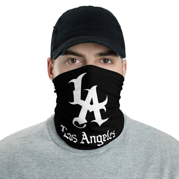 LA Los Angeles (Black) Neck Gaiter