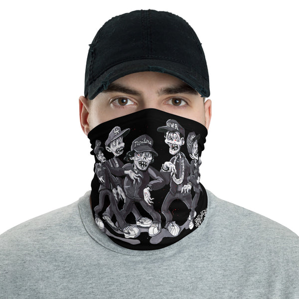 Zombies For Life Neck Gaiter