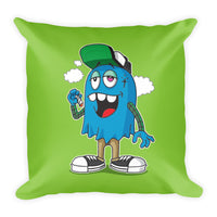 """Indo Smoke"" Square Pillow"