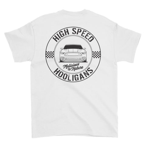 High Speed Hooligans (Black Print) Short sleeve t-shirt