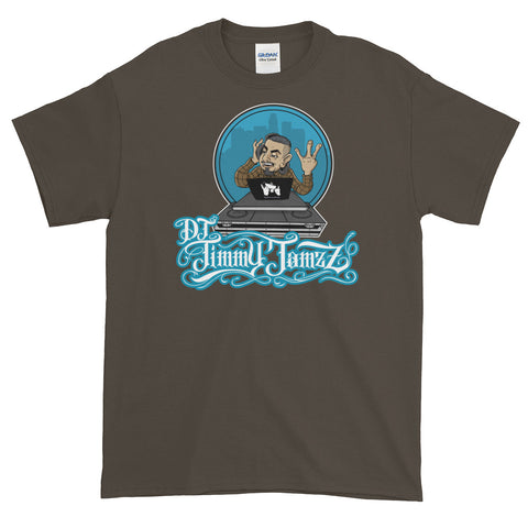 DJ Jimmy Jamzz Short-Sleeve T-Shirt by Castro