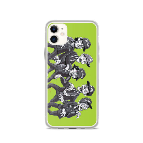 Zombies for Life Outbreak iPhone Case