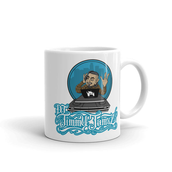 DJ Jimmy Jamzz Mug by Castro