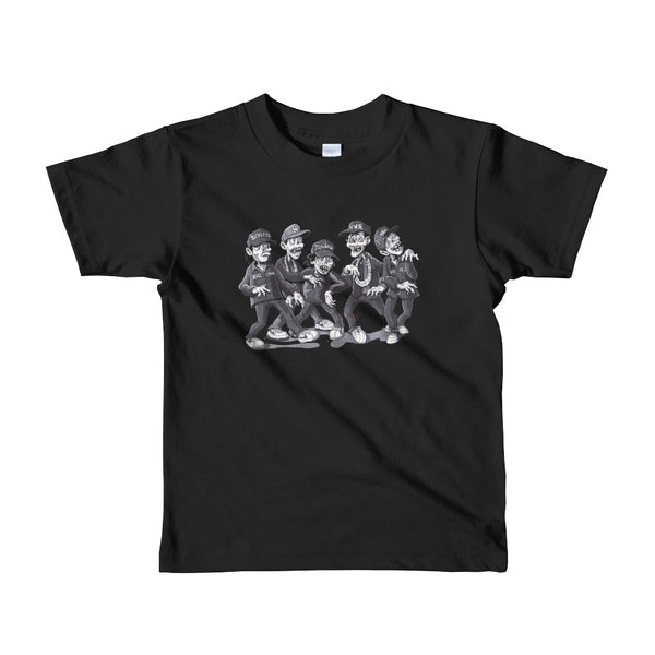 """Zombies For Life"" Short sleeve kids t-shirt"