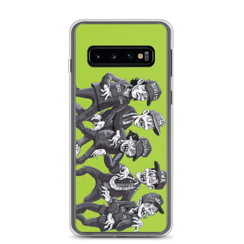 Zombies For Life Outbreak Samsung Case