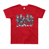 Zombies For Life Youth Short Sleeve T-Shirt