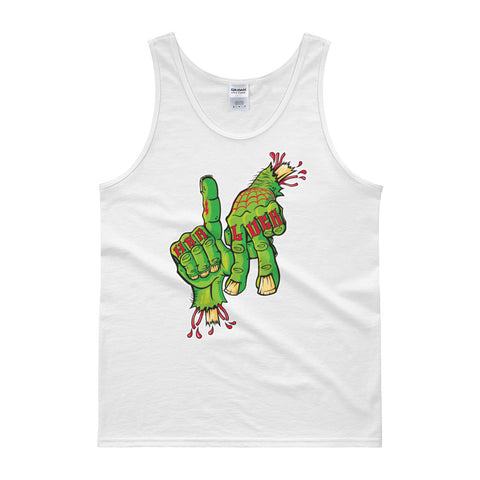 Gangsterbilly Re-release Hardluck LA Tank top
