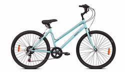 Mach City iBike Women's - 7 Speed (Size : Medium)