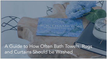 A Guide to How Often Bath Towels, Rugs and Curtains Should be Washed